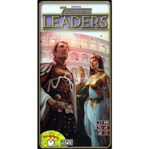 Настольная игра , 7 чудес: Предводители (дополнение) (7 Wonders: Leaders)