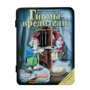 Настольная игра Саботёр , Гномы вредители делюкс с дополнением купить