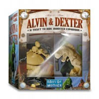 Ticket to Ride: The Monster Expansion Alvin