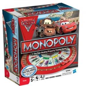 Монополия Тачки - 2, игра