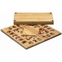 Калах / Манкала для 2-4 игроков (каучуковое дерево)