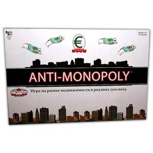 Настольная игра , Антимонополия (Anti-Monopoly)