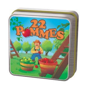 Настольная игра,  22 Яблока (22 Pommes)