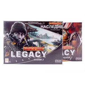 Настольная игра Пандемия: Наследие 2,  (Pandemic Legacy: Season 2)