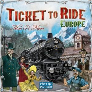 Билет на поезд: Европа (новая версия), настольные игры