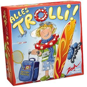 Настольная игра  Аллес Тролли (Alles Trolli!)