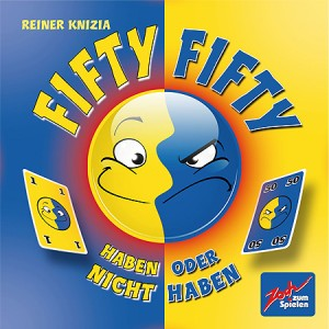 Настольная игра,  Фифти-Фифти (Fifty Fifty)