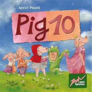 Игра настольная, 10 Свинок (Pig 10)